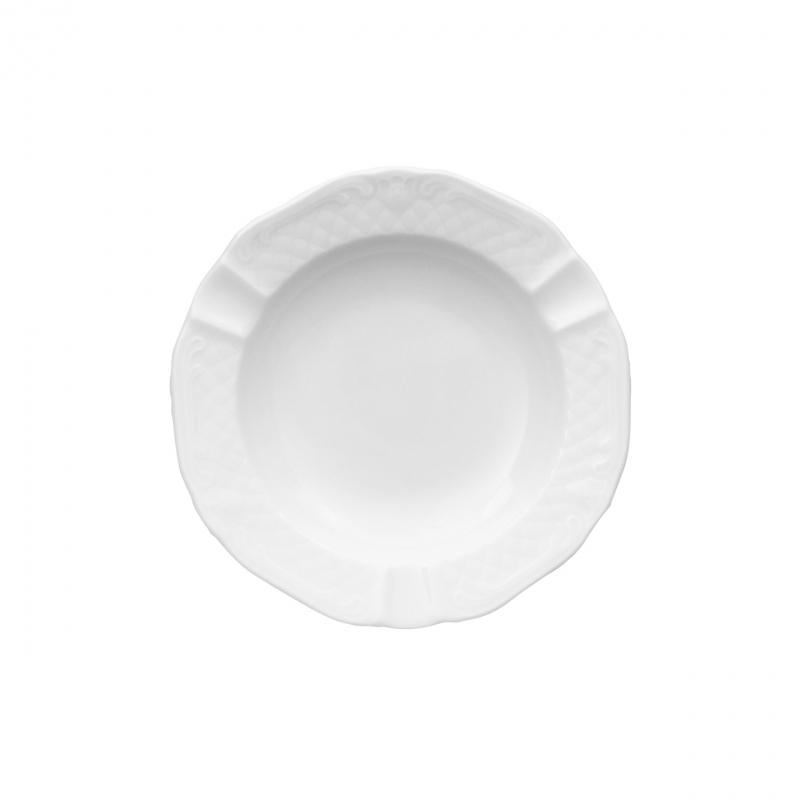 La Reine | Weiß | Ascher flach 16cm