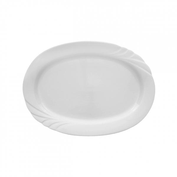 Ambiente   Weiß   Platte oval 28cm