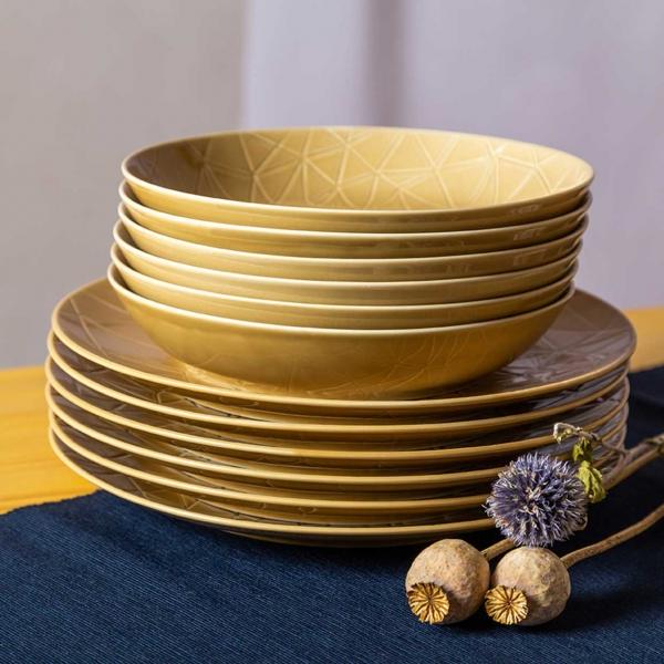 Kaleido   sahara gold   Tafelset 12-tlg.