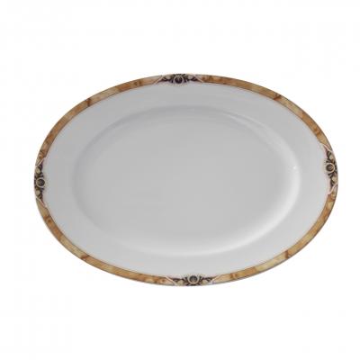 Barkarole   Golden Glimpse   Platte oval 23cm