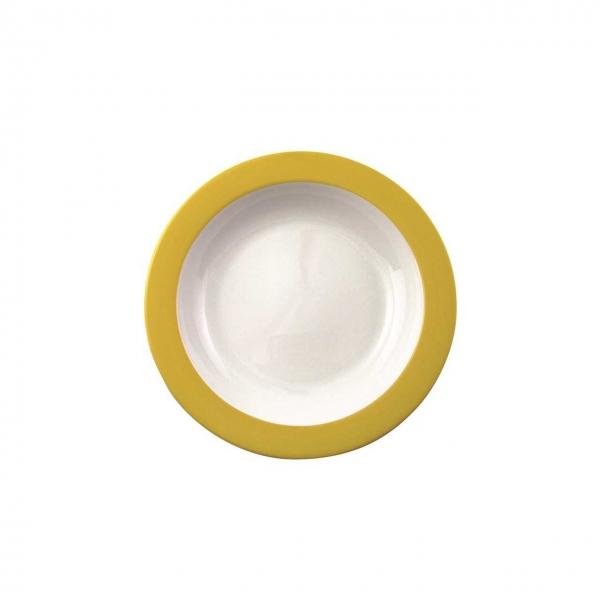 Color mit System | Gelb | Teller tief 21,5cm