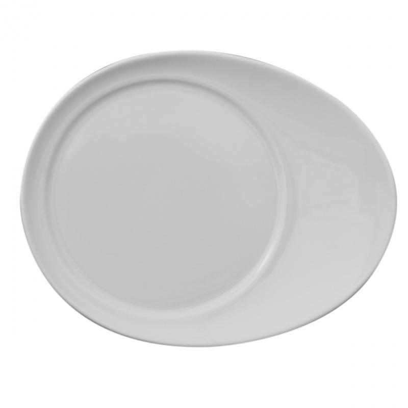 Universo | Weiß | Beilagenteller oval 18,5cm x 14,5cm
