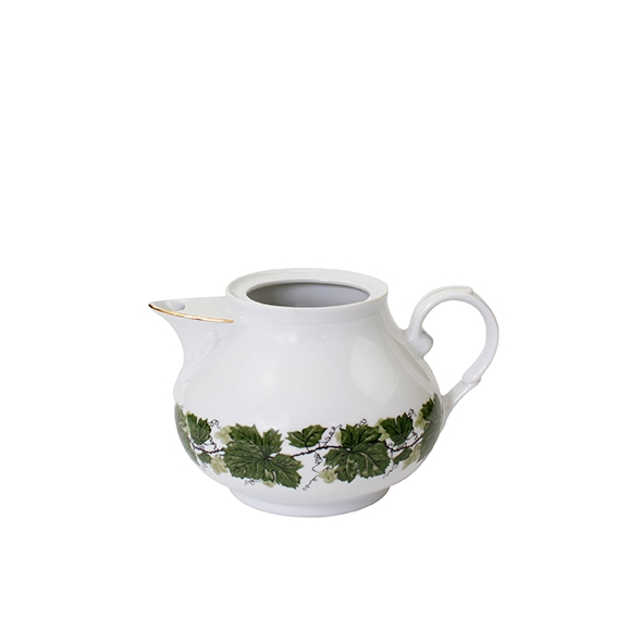 Romantika   Weinlaub   Teekanne Unterteil 1,00l