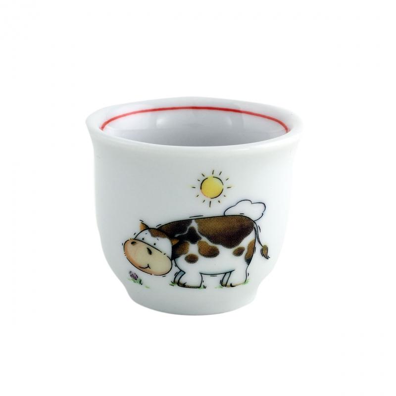 Kindergedecke | Kuh | Eierbecher 4,5cm