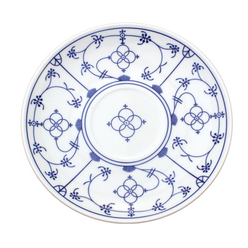 Tallin | Indischblau | Untertasse 19cm