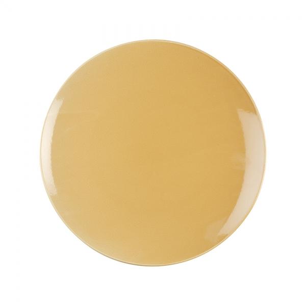 Kaleido | sahara gold | Teller flach coup 30 cm