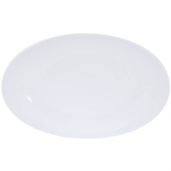 Simply Coup   Weiss   Platte oval coup 32cm