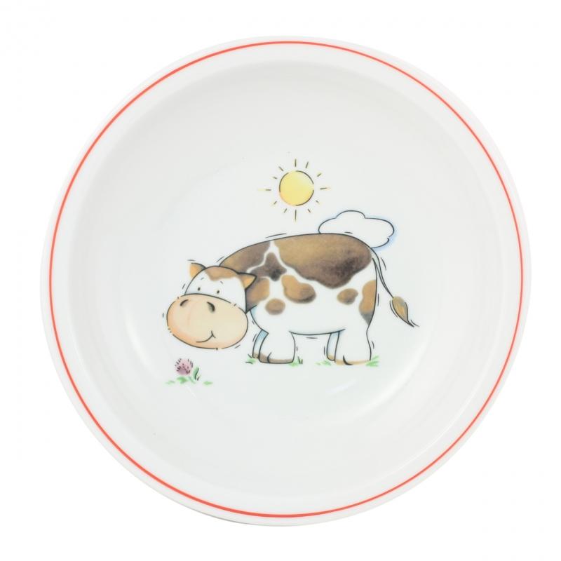 Kindergedecke | Kuh | Teller tief 20cm