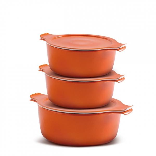 COOK & SERVE   orange   Familie - Set