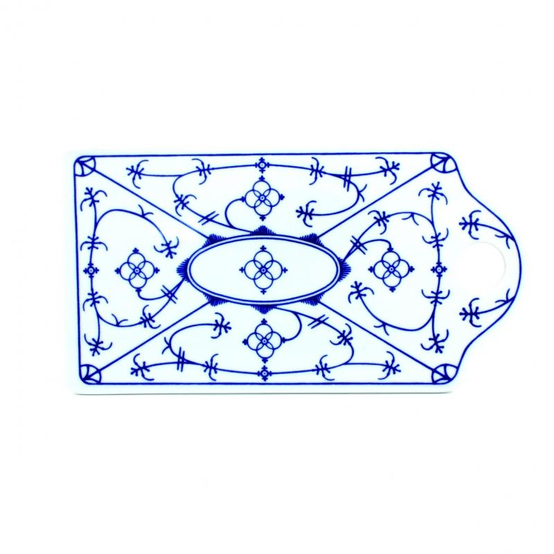 Tallin | Indischblau | Schnittbrett 26cm x 14cm