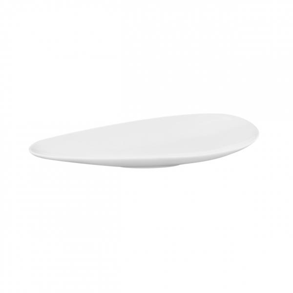 Buffet-Highlights   Weiß   Schale schmal 19,5cm x7cm x 2,2cm