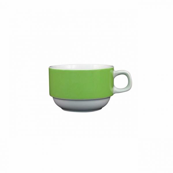 Color mit System   Grün   Obertasse 0,18l