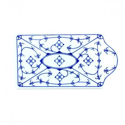 Tallin   Indischblau   Schnittbrett 26cm x 14cm