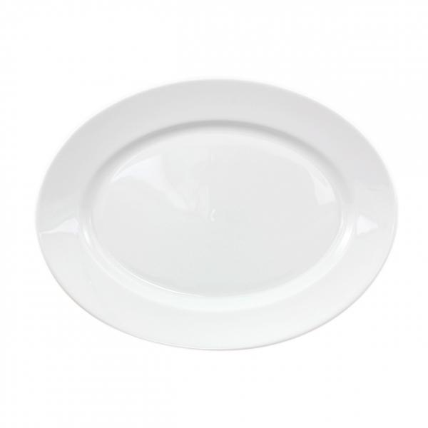 Primavera | Weiß | Platte oval 32cm