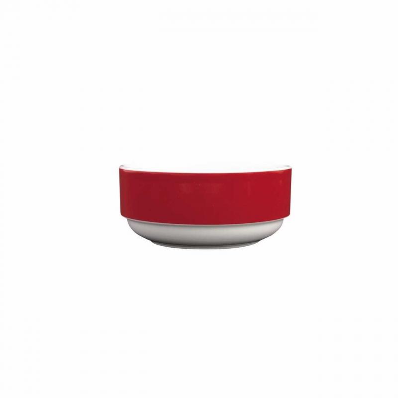 Color mit System | Rot | Schüssel rund hoch 12cm