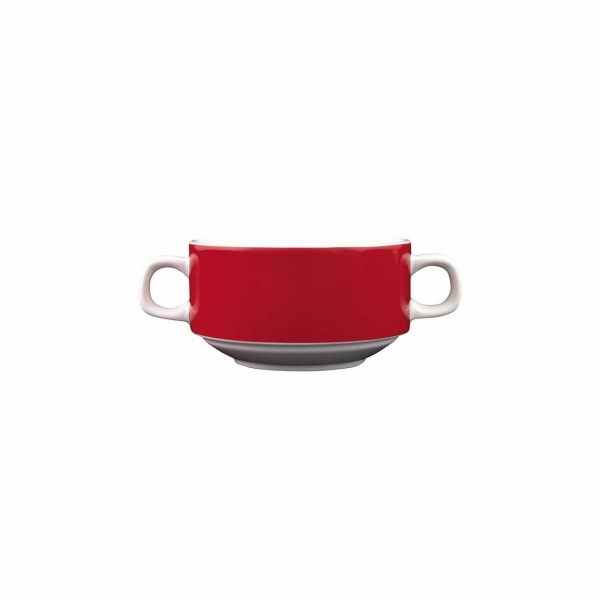 Color mit System | Rot | Suppentasse 0,26l