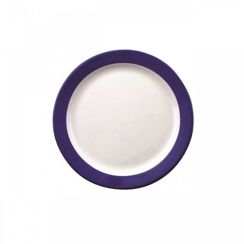 Color mit System | Blau | Teller flach 19cm