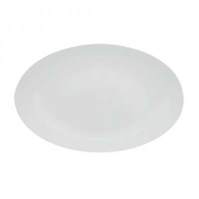 Universo | Weiß | Platte oval 23cm