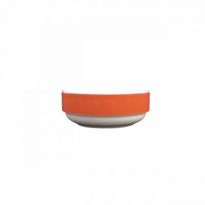 Color mit System | Orange | Schüssel rund niedrig 12cm
