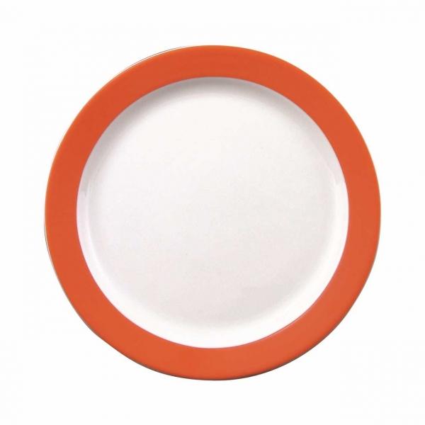Color mit System   Orange   Teller flach 25,5cm
