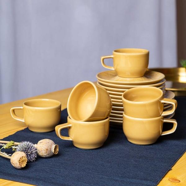 Kaleido | sahara gold | Kaffeeset 18-tlg.