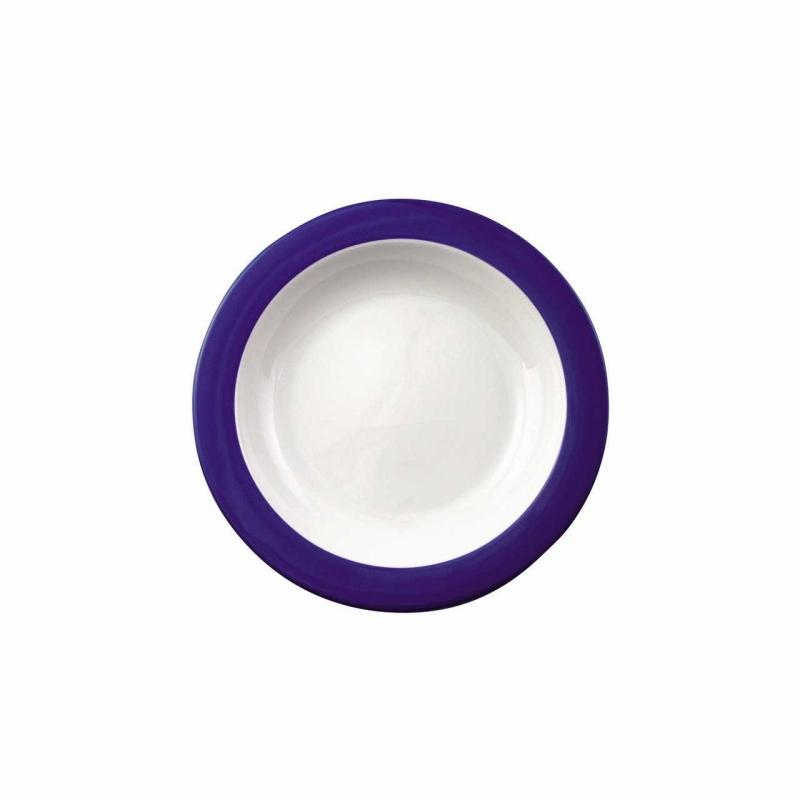 Color mit System | Blue | plate deep 21,5cm