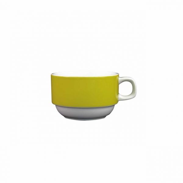 Color mit System   Gelb   Obertasse 0,18l