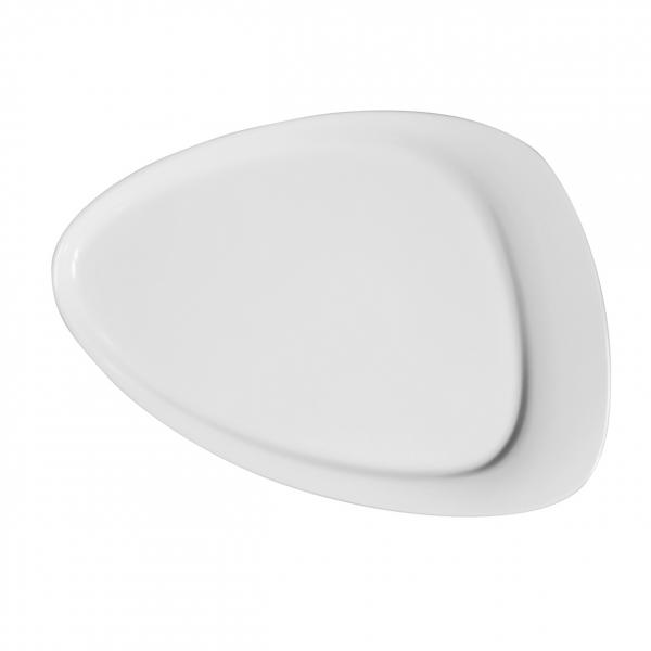 Calla | Weiß | Teller flach 31,5cm