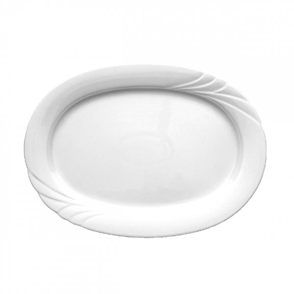 Ambiente | Weiß | Platte oval 32cm