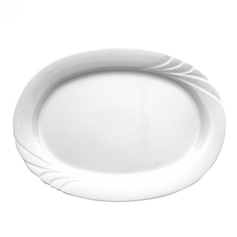 Ambiente | Weiß | Platte oval 36cm