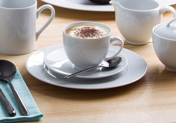 Barkarole   weiß  Kaffeeset 18-tlg.