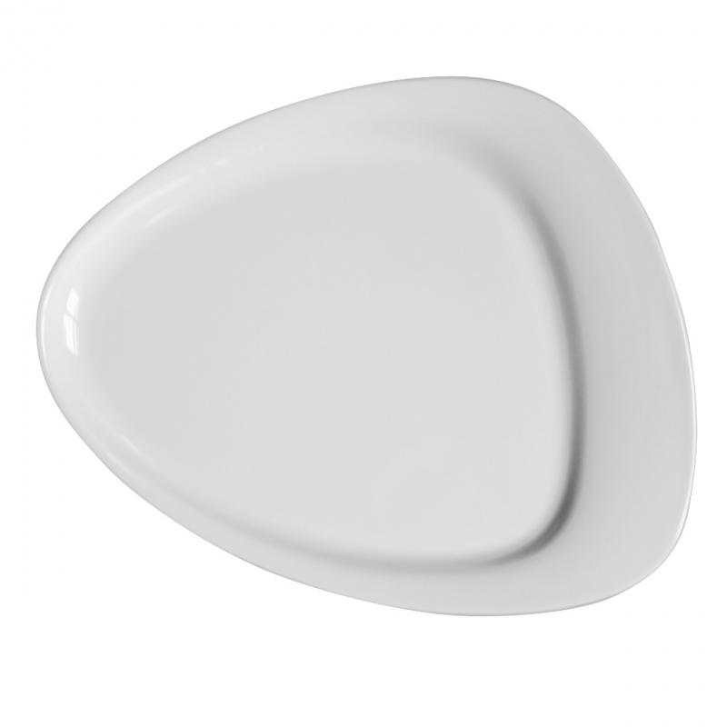 Calla | Weiß | Teller flach 26cm