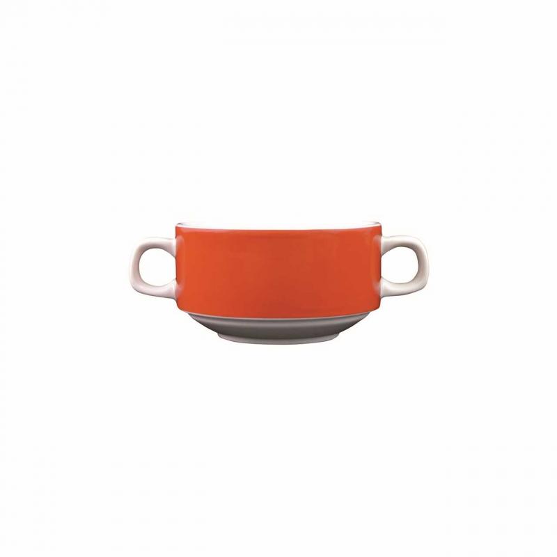 Color mit System   Orange   Suppentasse 0,26l