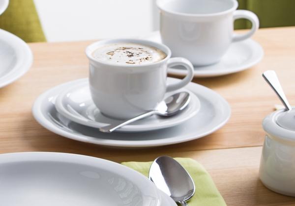 Today   weiß   Kaffeeset 18-tlg.