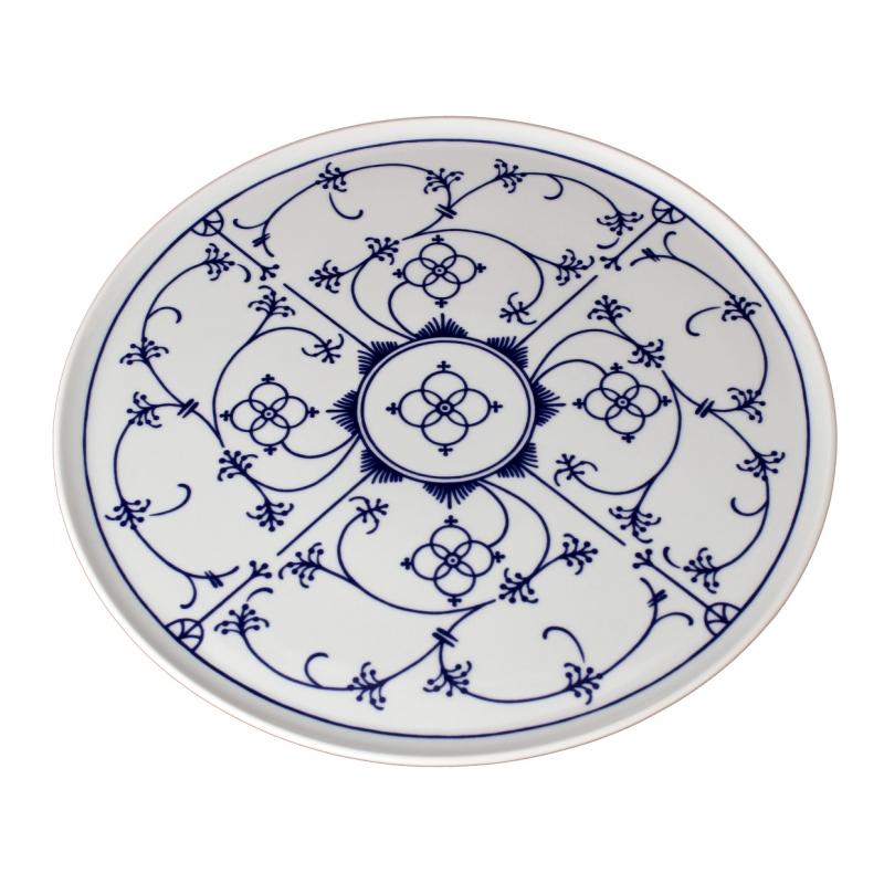 Tallin | Indischblau | Tortenplatte 33cm