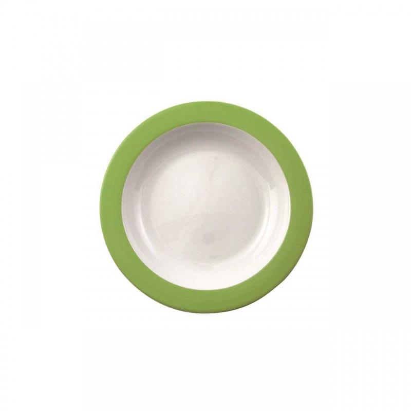 Color mit System | Grün | Teller tief 21,5cm