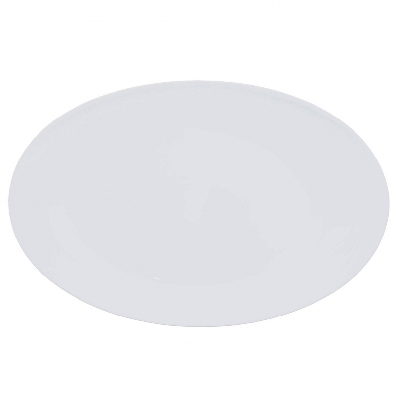 Universo   Weiß   Platte oval 38cm