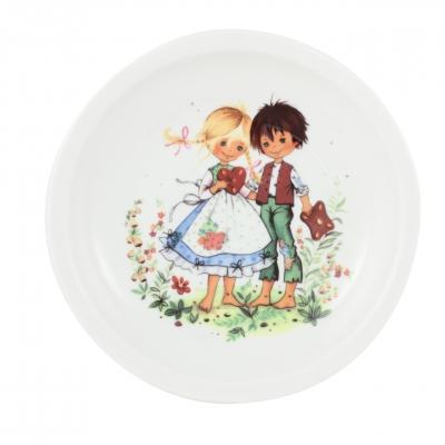 Kindergedecke | Hänsel & Gretel | Teller flach 20cm