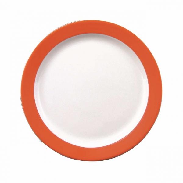 Color mit System | Orange | Teller flach 24cm