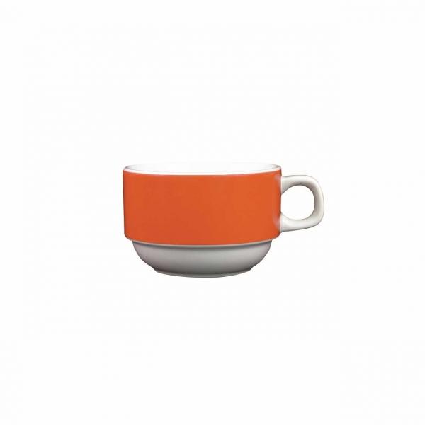 Color mit System | Orange | Obertasse 0,18l