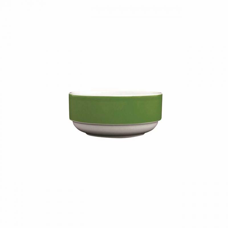 Color mit System | Dunkelgrün | Schüssel rund hoch 12cm