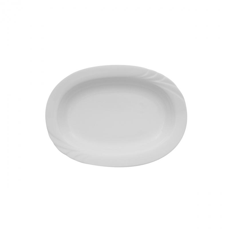 Ambiente | Weiß | Platte oval 23cm