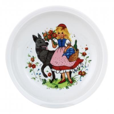Kindergedecke | Rotkäppchen | Teller tief 20cm