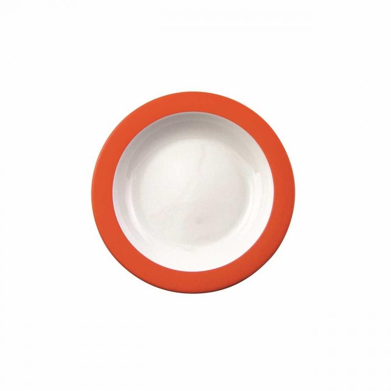 Color mit System | Orange | Teller tief 21,5cm