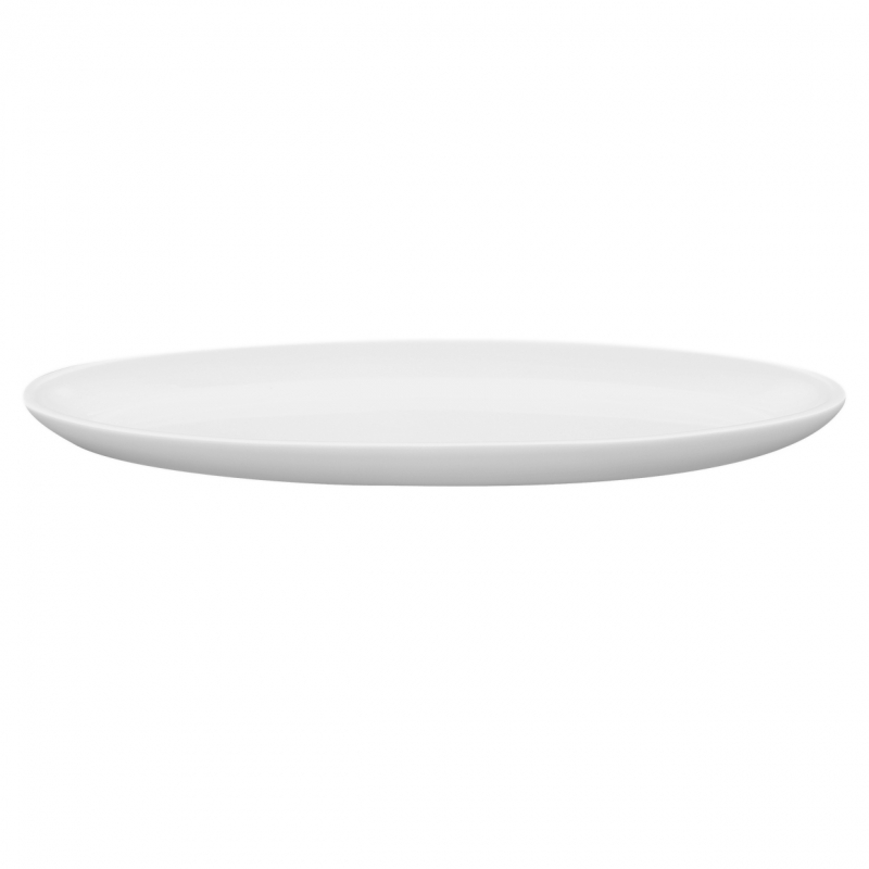 Buffet-Highlights | Weiß | Schale flach 39,5cm x 12cm x 2,5cm
