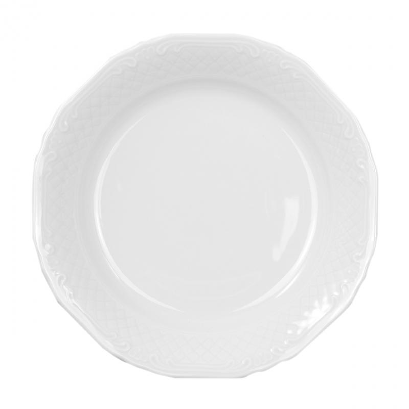 La Reine | Weiß | Teller tief 19cm