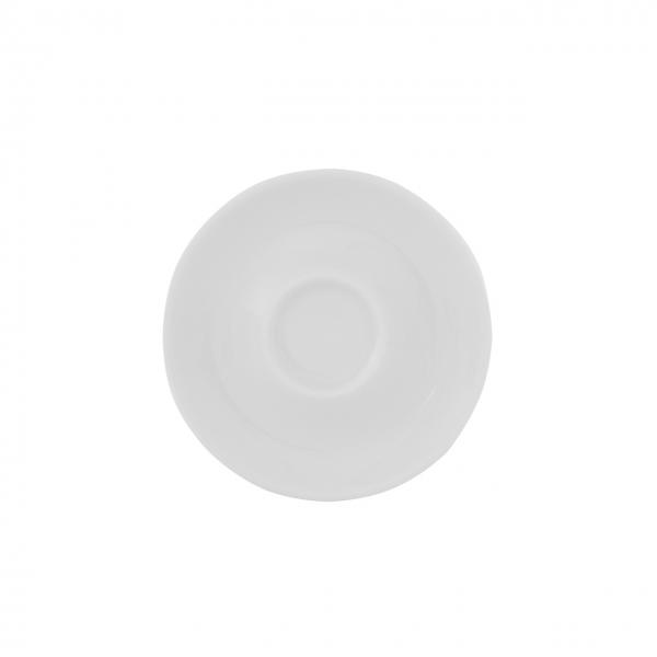 Baristar | Weiß | Untertasse mit Spiegel mitte 11cm