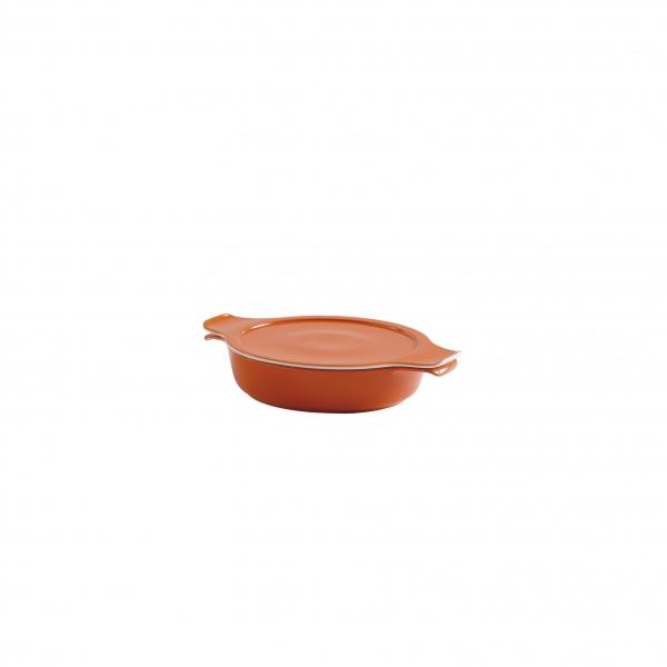 COOK & SERVE   Topf flach mit Deckel 0,30 l / 16 cm