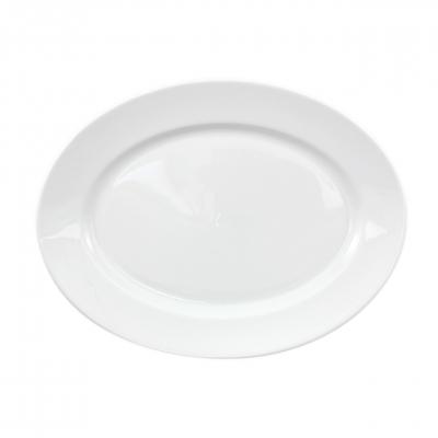 Primavera   Weiß   Platte oval 32cm
