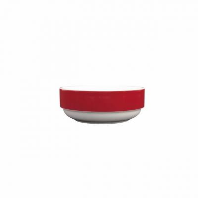 Color mit System | Rot | Schüssel rund niedrig 12cm